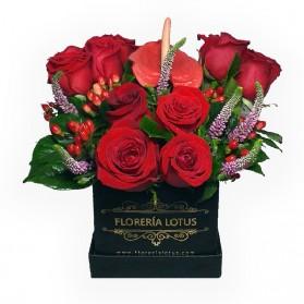 Box de rosas N°1