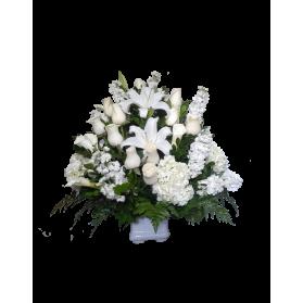 Arreglo floral de condolencias