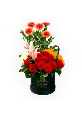 Box de flores variadas