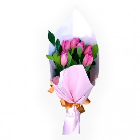 Ramo de 10 tulipanes N°2