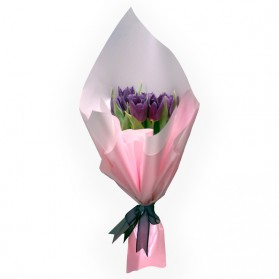 Ramo de 10 tulipanes N°1
