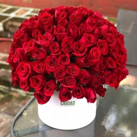 Arreglo de 150 rosas